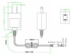 画像2: 小型高信頼ACアダプタ 5V2A コンセント直結型(郵便発送)