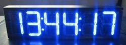 画像1: 大型LED 時計・温度計 6桁 5〜24インチ 屋内/屋外タイプあり