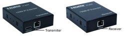 画像1: HDMI 延長 最大150m TCP/IP式  ハブで分配可能