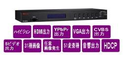 画像1: ハイビジョンビデオ信号発生器 HDMI,YPP,VGA,VBS対応