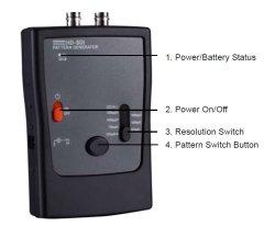 画像2: HD-SDIシリアルデジタルビデオ信号発生器