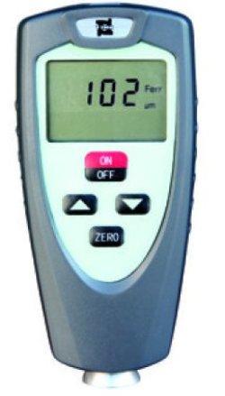 画像1: 磁気誘導測定式 鉄母体対応 小型軽量 コーティング膜厚計