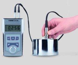 画像1: 高性能型 超音波厚さ計 筒や球でも外から厚み測定 測定範囲1.2~225.0mm厚