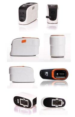 画像2: ポータブル分光色差計 プラ・織物・食品の測色に、  カラーカード検索機能