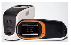 画像1: ポータブル分光色差計 プラ・織物・食品の測色に、  カラーカード検索機能